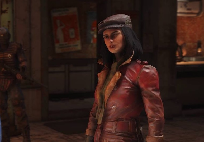 Fallout 4 companion Piper Wright
